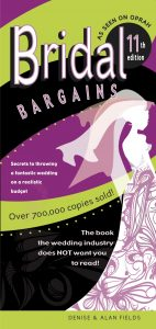 Bridal Bargains book